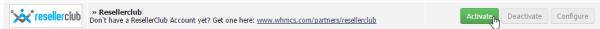 mengaktifkan ResellerClub sebagai registrar nama domain