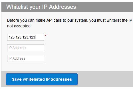 whitelist IP di ResellerClub